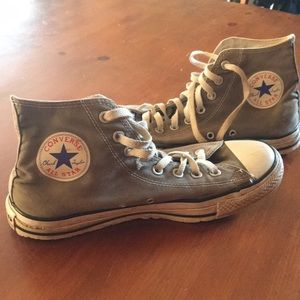 Vintage Coverse high tops size 8